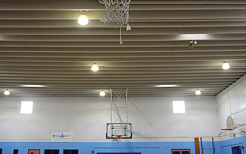 LED Commercial Lighting Gym Florida